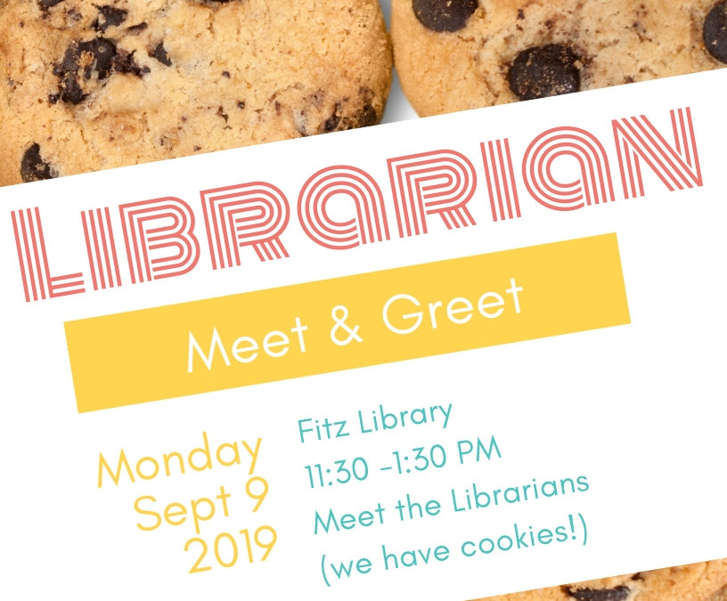 Library Meet and Greet Today